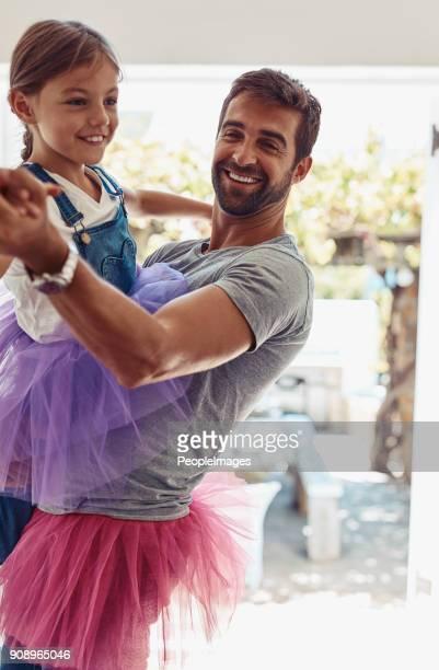 Vorbereitung für den Vater-Tochter-Tanz