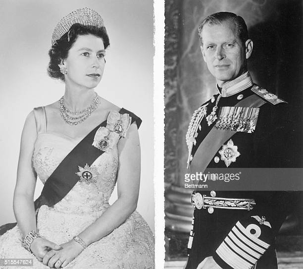 Preparing for their state visit to India, Pakistan, Nepal and Iran, Britain's Queen Elizabeth II and her husband Prince Philip, are shown in this...