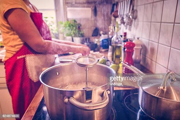 Preparing Fresh Squid for a Deep Fried Dish