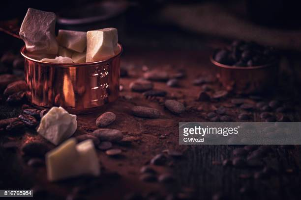 Förbereda hemlagad god kvalitet choklad barer