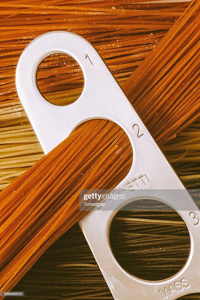 Preparing Pasta : Stock Photo