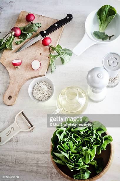 preparing salad - jars with salad stock pictures, royalty-free photos & images