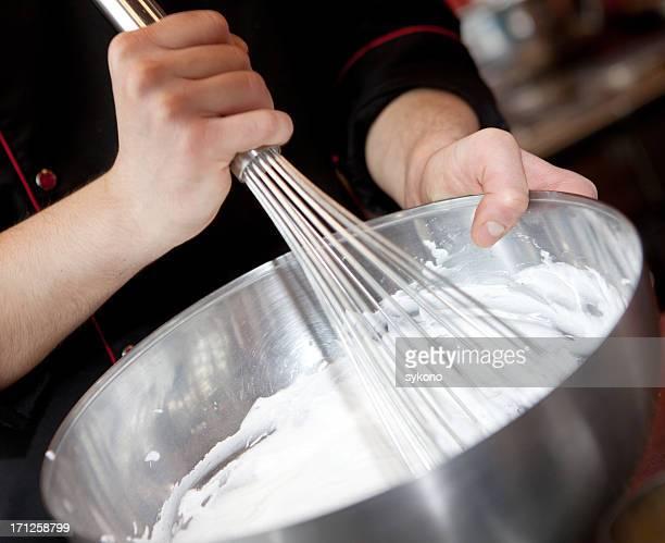 Preparing sweet cream