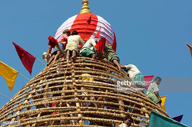 CONTENT] Preparing the Temple Chariot for Shivaratri festival Gokana Karnataka India on February 19 2012 Shivaratri 'Great Night of Shiva' is a major...