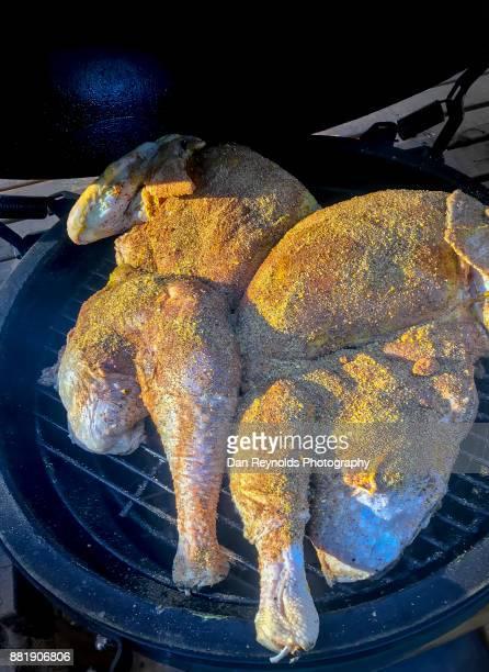 Preparing Turkey for Thanksgiving