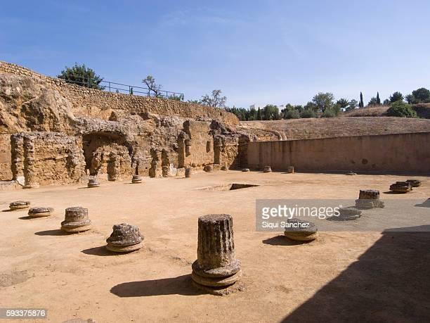 pre-roman necropolis in carmona - carmona fotografías e imágenes de stock