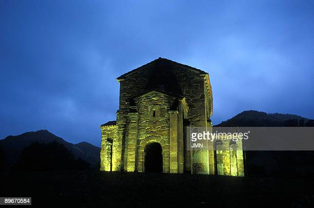 Preromanic art Church of Santa Cristina de Lena Pola de Lena Asturias
