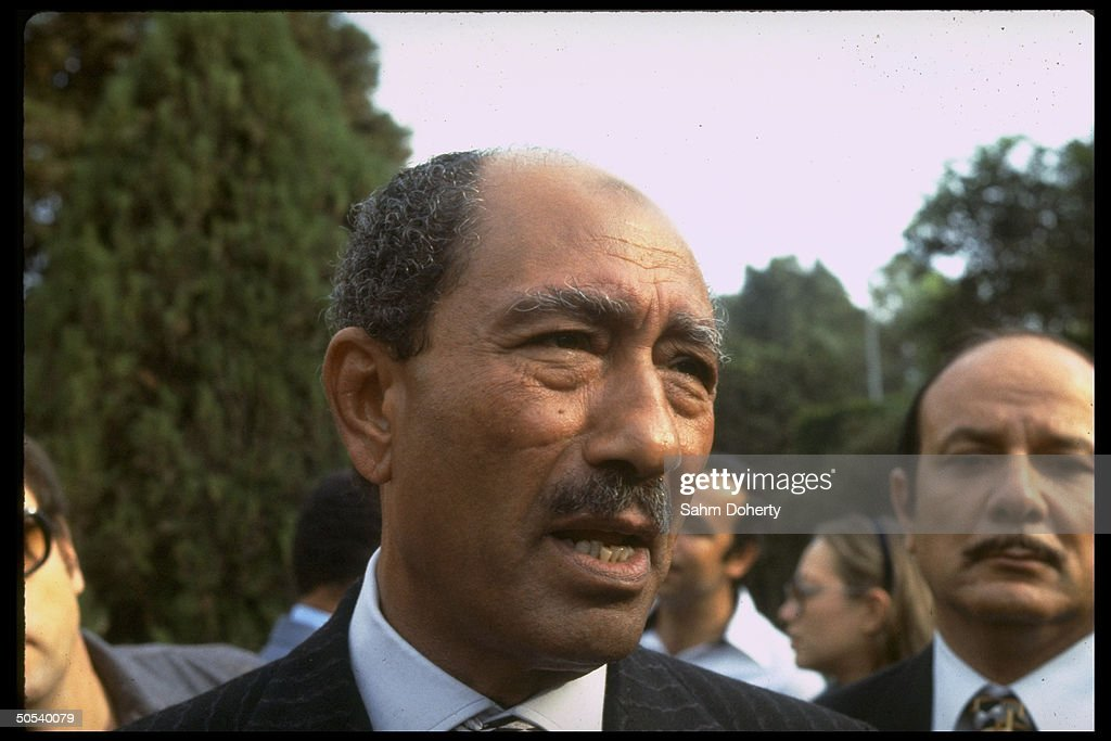 Anwar Sadat : News Photo