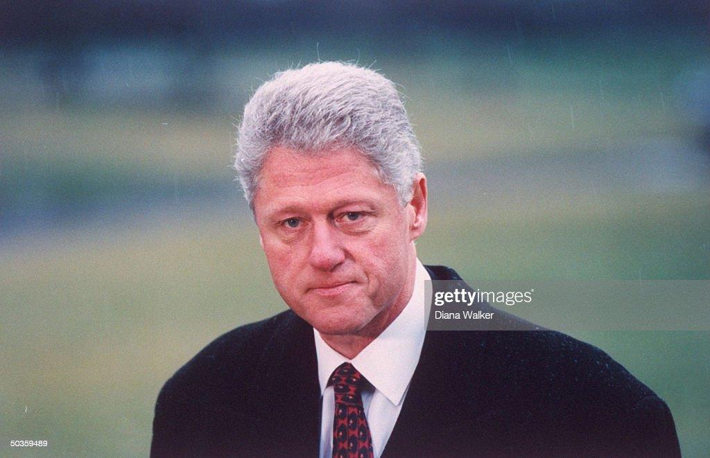 William J. Clinton : News Photo