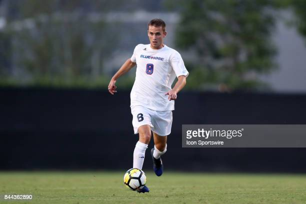 Presbyterian's Adrian Edo Martin The Duke University Blue Devils hosted the Presbyterian College Blue Hose on September 5 2017 at Koskinen Stadium in...