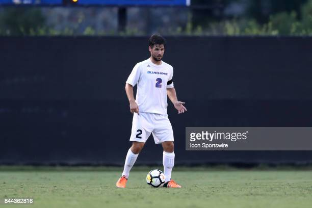 Presbyterian's Jakob Luedtke The Duke University Blue Devils hosted the Presbyterian College Blue Hose on September 5 2017 at Koskinen Stadium in...