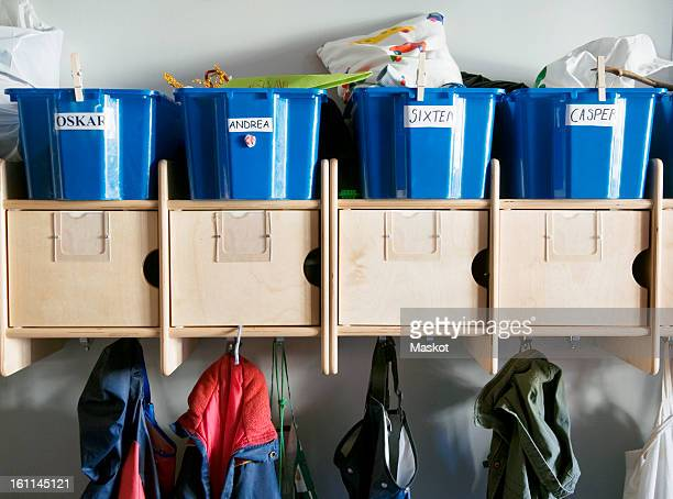 preschool hallway - preschool building stock pictures, royalty-free photos & images