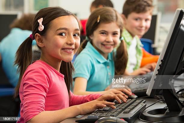 Preschool Learners Using Computers