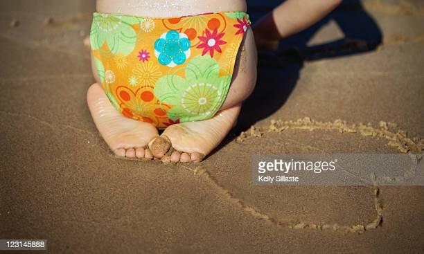 Preschool sand play