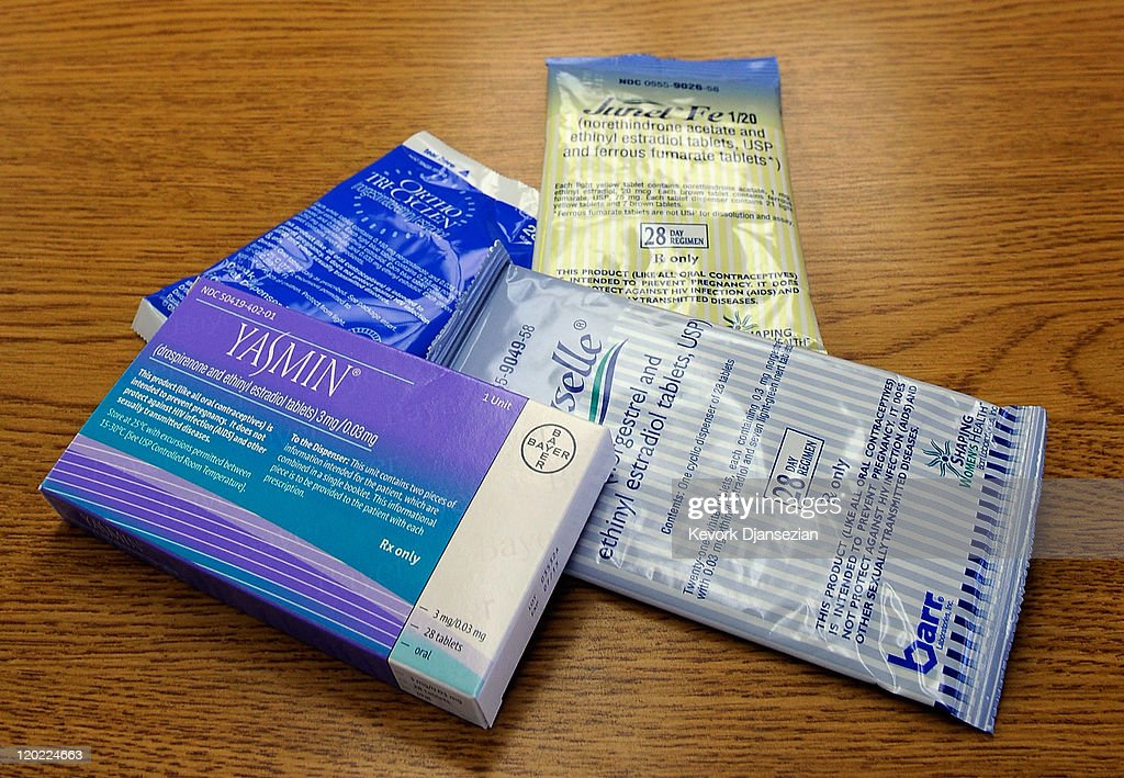 Health And Human Services Dept. Approves Free Birth Control For Women : News Photo