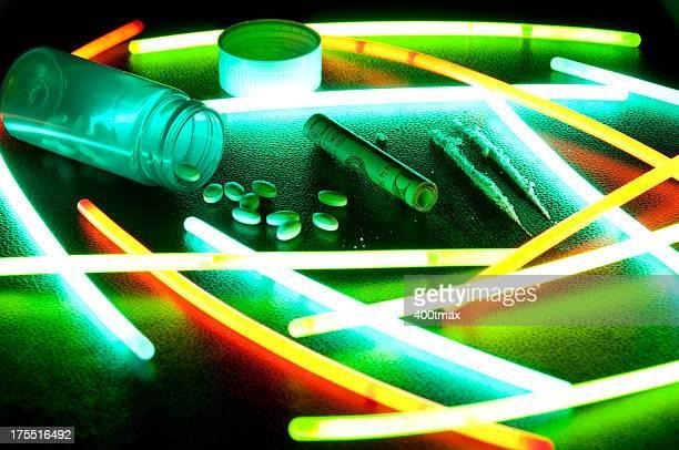 Prescription drug abuse concept