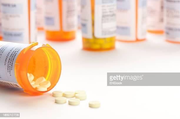 Verschreibungspflichtige Medikamente Medizin Tablette Tablets