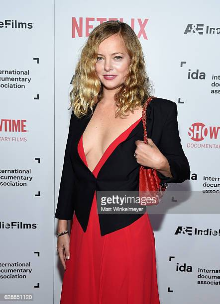 Presemter Bijou Phillips attends the 32nd Annual IDA Documentary Awards at Paramount Studios on December 9 2016 in Hollywood California