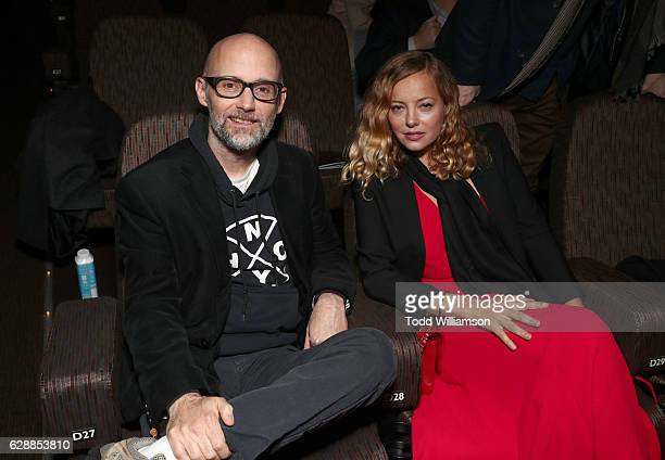 Presemters Moby and Bijou Phillips attend the 32nd Annual IDA Documentary Awards at Paramount Studios on December 9 2016 in Hollywood California