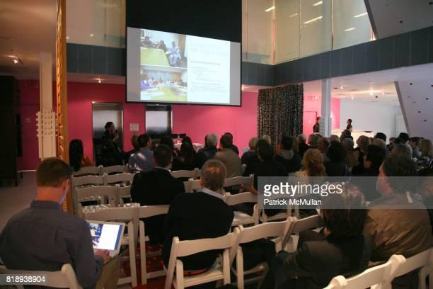 Presenation at CFDA biannual membership meeting at Diane von Furstenberg Studio on May 11, 2010 in New York City.