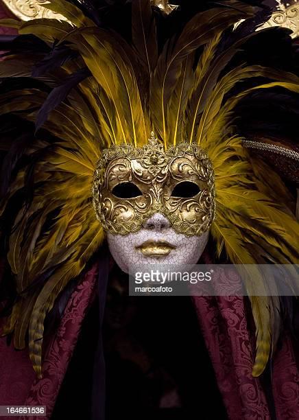 presencia - maschere veneziane foto e immagini stock