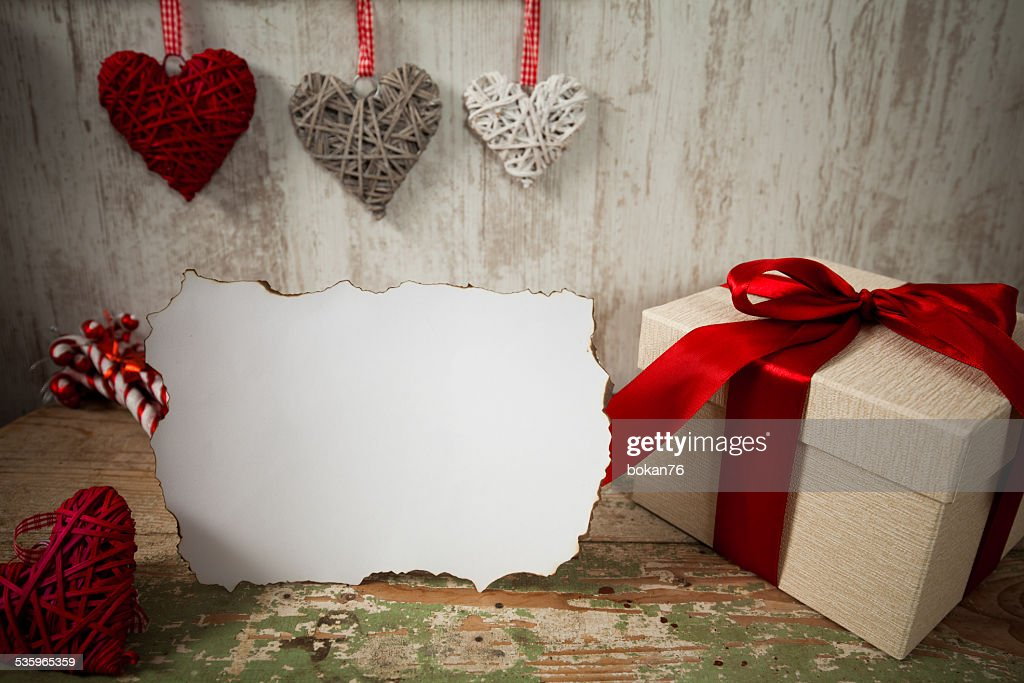 Present box : Stock Photo