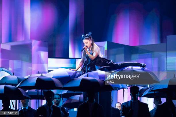 AWARDS Presentation 2018 BBMA's at the MGM Grand Las Vegas Nevada Pictured Ariana Grande