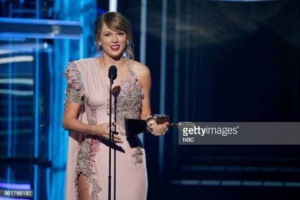 AWARDS Presentation 2018 BBMA's at the MGM Grand Las Vegas Nevada Pictured Taylor Swift Winner of Top Selling Album