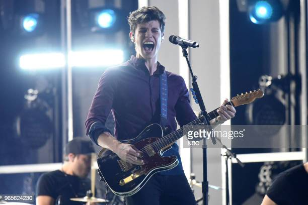 AWARDS Presentation 2018 BBMA's at the MGM Grand Las Vegas Nevada Pictured Shawn Mendes
