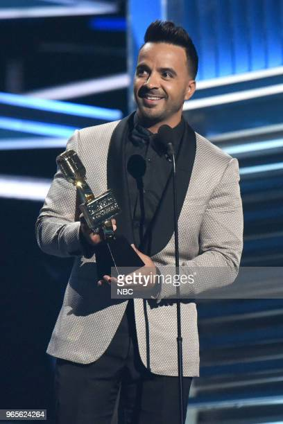 AWARDS Presentation 2018 BBMA's at the MGM Grand Las Vegas Nevada Pictured Luis Fonsi
