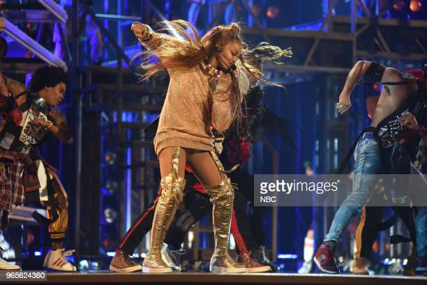 AWARDS Presentation 2018 BBMA's at the MGM Grand Las Vegas Nevada Pictured Janet Jackson