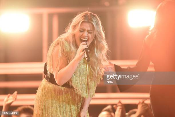 AWARDS Presentation 2018 BBMA's at the MGM Grand Las Vegas Nevada Pictured Kelly Clarkson
