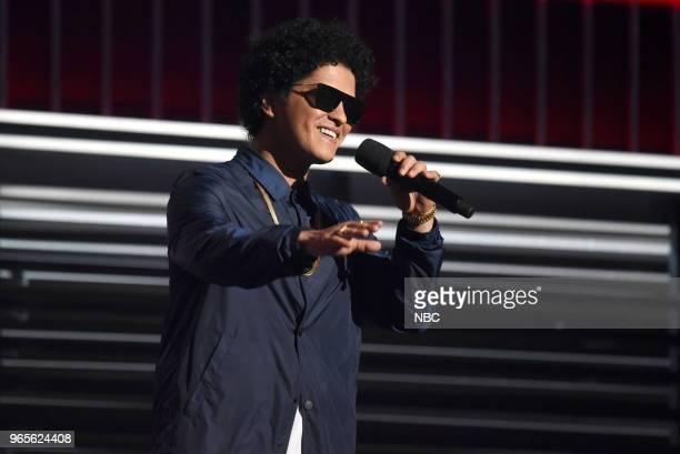 AWARDS Presentation 2018 BBMA's at the MGM Grand Las Vegas Nevada Pictured Bruno Mars