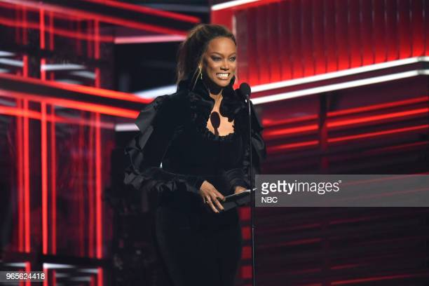 AWARDS Presentation 2018 BBMA's at the MGM Grand Las Vegas Nevada Pictured Tyra Banks