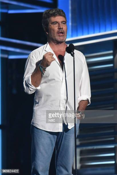 AWARDS Presentation 2018 BBMA's at the MGM Grand Las Vegas Nevada Pictured Simon Cowell
