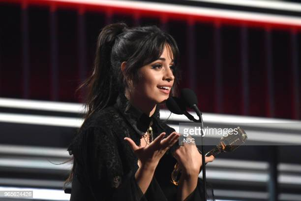 AWARDS Presentation 2018 BBMA's at the MGM Grand Las Vegas Nevada Pictured Camila Cabello