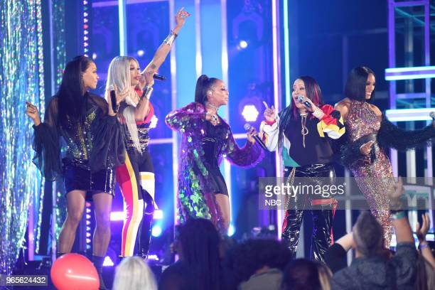 AWARDS Presentation 2018 BBMA's at the MGM Grand Las Vegas Nevada Pictured SaltNPepa and En Vogue