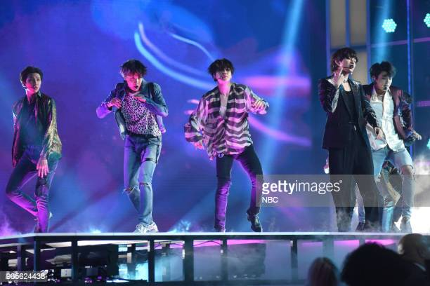AWARDS Presentation 2018 BBMA's at the MGM Grand Las Vegas Nevada Pictured BTS