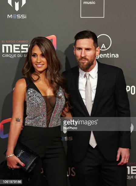 Presentation at the Camp Nou of the Cirque du Soleil show inspired by Leo Messi Messi10 by Cirque du Soleil to be premiered in Barcelona on October...