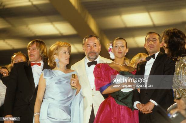 Presentation du film Fort Saganne d'Alain Corneau avec Philippe Noiret Catherine Deneuve Gerard Depardieu et Sophie Marceau au Festival International...