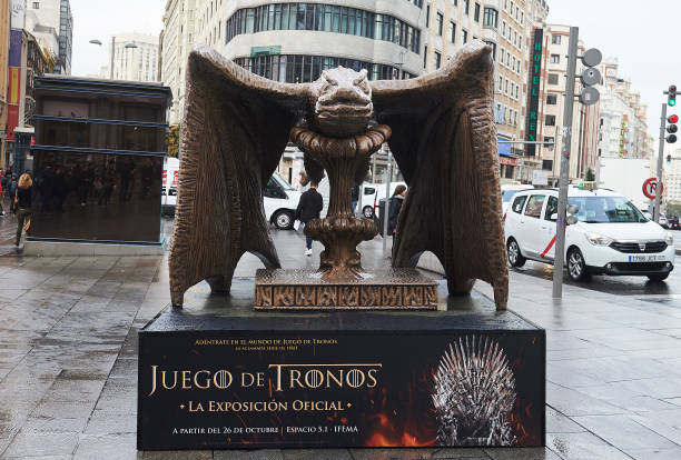 ESP: 'Game Of Thrones' Official Exhibition Presentation in Madrid