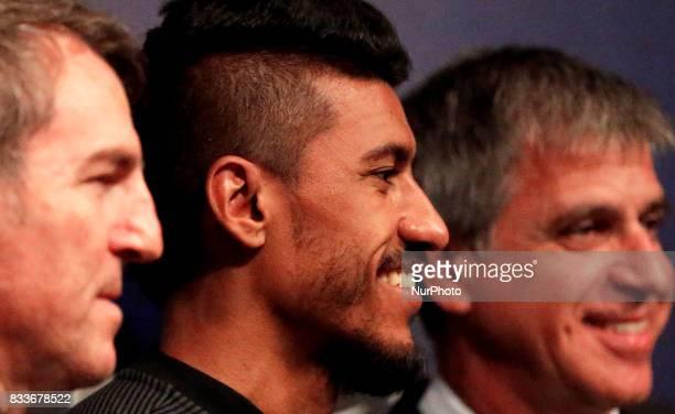 Presentation of Paulinho as new player of the FC Barcelona in Barcelona on August 17 2017 Photo JoanValls/Urbanandsport/Nurphoto