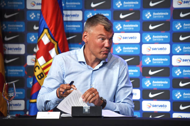 ESP: Sarunas Jasikevicuis New Coach Of Barcelona Basketball