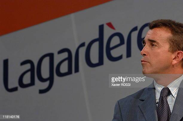 Presentation of semiannual result of Lagardere group in Paris France on September 13 2006 Arnaud Lagardere President of Lagardere group