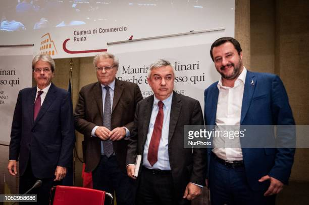 Presentation of the book quotWhy it happened here Journey to the origin of Italian populism that shakes Europequot by Maurizio Molinari present at...