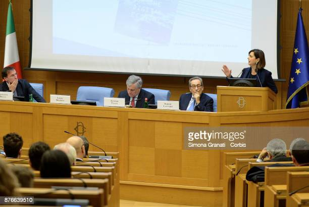Presentation of the book 'The challenge of the digital economy' on November 20 2017 in Rome Italy