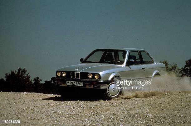 Presentation Of The Ds And Bmw 325 L 325 I Cabriolet France Octobre 1985 Présentation de modèles BMW le modèle de la BMW 325 L en montagne sur une...