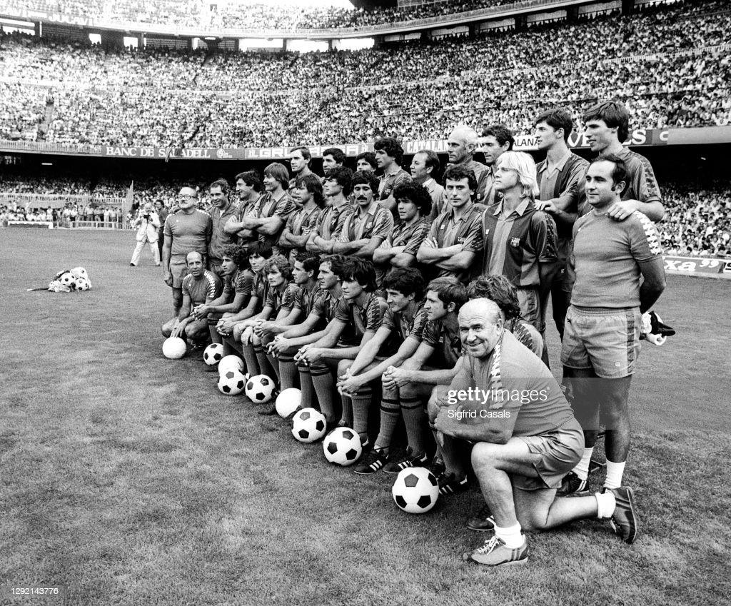 Фото футбольного клуба барселона 1982 года
