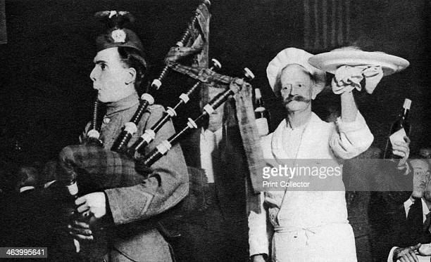Presentation of the haggis at a Caledonian banquet London 19261927 From Wonderful London volume II edited by Arthur St John Adcock published by...