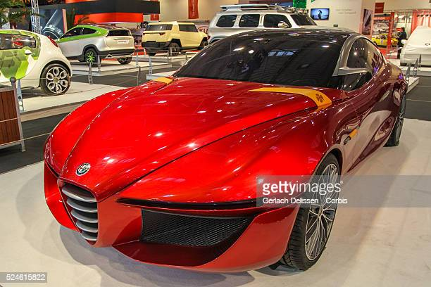 Presentation of the IED Alfa Romeo Gloria Concept at the 2013 Essen Motor Show in Germany November 29th 2013